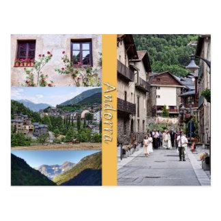 Cartão de Andorra