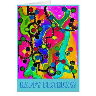 Cartão de aniversário 1