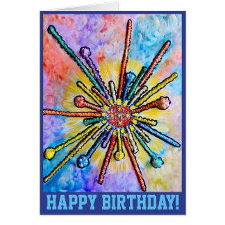 Cartão de aniversário 15