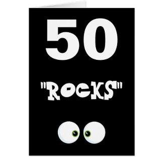 Cartão de aniversário 50