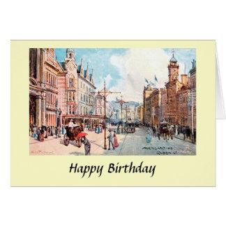 Cartão de aniversário - Auckland, Nova Zelândia