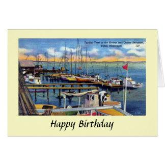 Cartão de aniversário - Biloxi, Mississippi