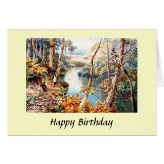 Cartão de aniversário - Bornemouth, Dorset
