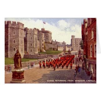 Cartão de aniversário, castelo de Windsor