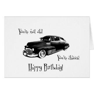 Cartão de aniversário clássico