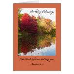 Cartão de aniversário cristão -- O senhor Bênção V