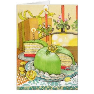 Cartão de aniversário da princesa Torte por