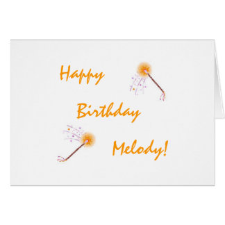 Cartão de aniversário da sobrinha