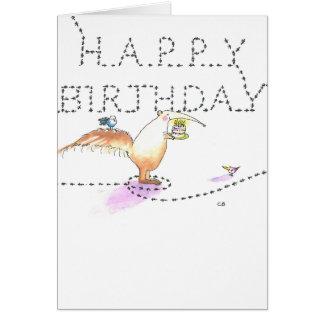"""Cartão de aniversário das """"formigas"""""""