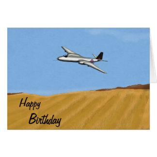 Cartão de aniversário de Canberra