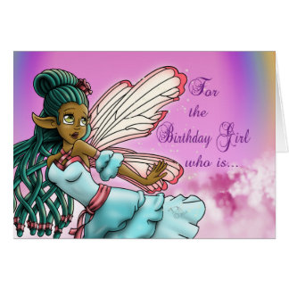 """Cartão de aniversário de """"Gracefulnes"""""""