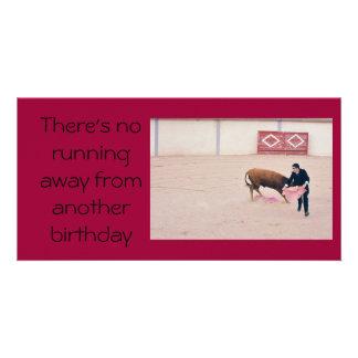 Cartão de aniversário de Groucho Marx Cartão Com Foto