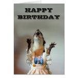 Cartão de aniversário de Juanita