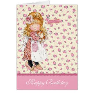 Cartão de aniversário de Sarah Kay