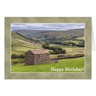 Cartão de aniversário de Yorkshire
