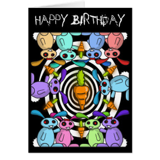 Cartão de aniversário de Zombunz