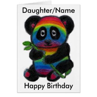 Cartão de aniversário do amigo da sobrinha da neta