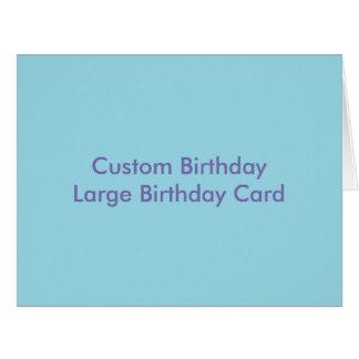 Cartão de aniversário do aniversário feito sob