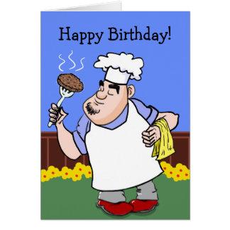 Cartão de aniversário do CHURRASCO