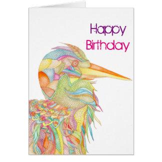 Cartão de aniversário do feliz aniversario