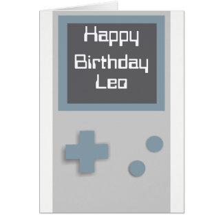 Cartão de aniversário do Gamer