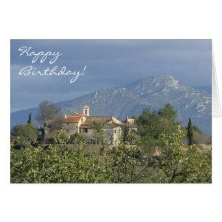 Cartão de aniversário dos Pyrenees, France