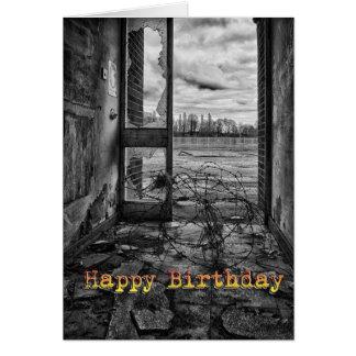Cartão de aniversário engraçado