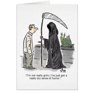 Cartão de aniversário engraçado do Ceifador