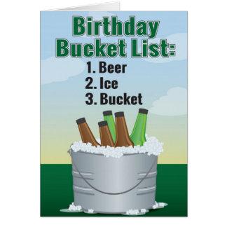Cartão de aniversário engraçado para o homem -