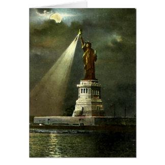 Cartão de aniversário - estátua da liberdade, NYC