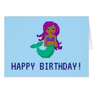 cartão de aniversário feito sob encomenda da
