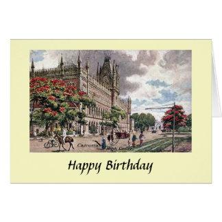 Cartão de aniversário - Kolkata, India