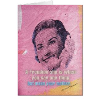 Cartão de aniversário: Mãe (deslizamento
