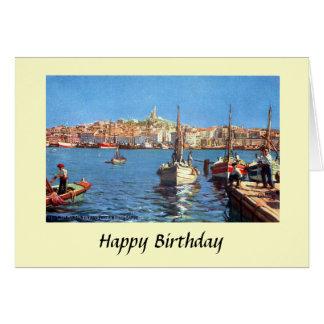 Cartão de aniversário - Marselha