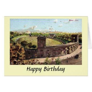 Cartão de aniversário - Milão