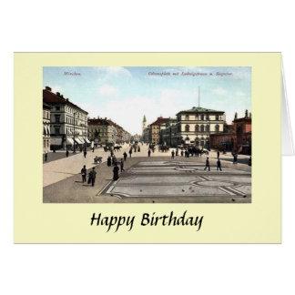 Cartão de aniversário - Munich, Alemanha
