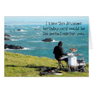 Cartão de aniversário natural exterior do