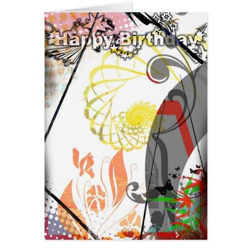 Cartão de aniversário para adolescentes e adultos