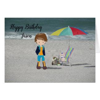 Cartão de aniversário para Jason, ou algum homem