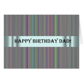 Cartão de aniversário para o pai do Special de s