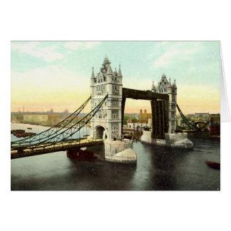 Cartão de aniversário, ponte da torre, Londres