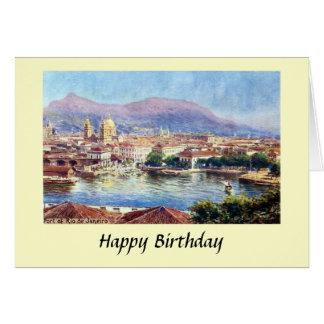 Cartão de aniversário - Rio de Janeiro, Brasil