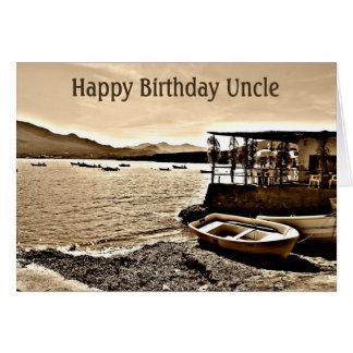 Cartão de aniversário - tio