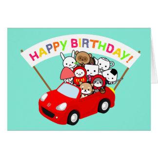 Cartão de aniversário - todo o caráter