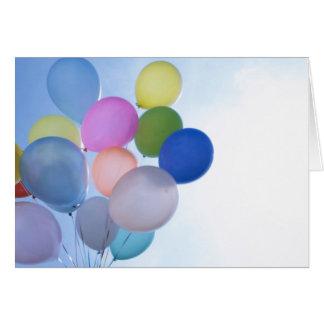 Cartão de aniversário vazio 2