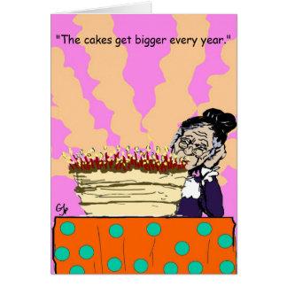 Cartão de aniversário vivo da boneca
