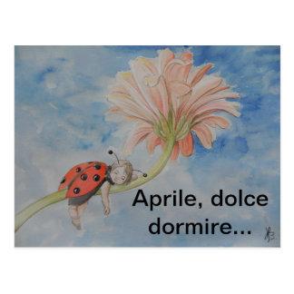 Cartão de Aprile