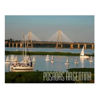 Cartão de Argentina dos Posadas