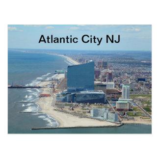 Cartão de Atlantic City NJ North End