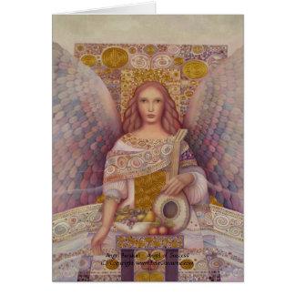 Cartão de Barakiel do anjo